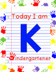 First Day of School Photo Signs K-3
