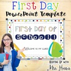 First Day of School SmartBoard File