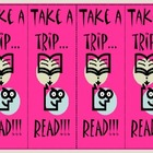First Day of School Treat Bookmark Girl