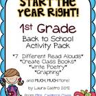 First Grade Back to School Pack - Start the year right!