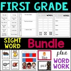 First Grade CCSS Center Sight Words Word Work Bundle