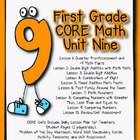 First Grade CORE Math Standards Unit 9