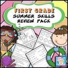First Grade Common Core Based Summer Skills Review Pack
