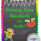 First Grade Common Core: Geometry Bundle