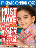 First Grade Common Core Graphic Organizers and Posters (La