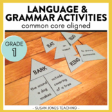 First Grade Common Core Language Activities & Printables [BUNDLE]