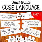 First Grade Common Core Language Activities & Printables [