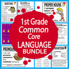 First Grade Common Core Language Bundle