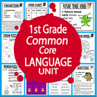 First Grade Common Core Language Unit
