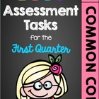 First Grade Common Core Math Assessment Tasks (First Quarter)