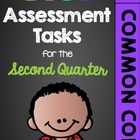 First Grade Common Core Math Assessment Tasks (Second Quarter)