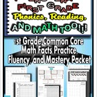 First Grade Common Core Math Facts Practice, Fluency, and