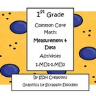 First Grade Common Core Math: Measurement &amp; Data