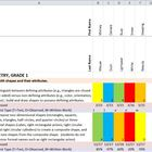 First Grade Common Core Math Spreadsheet