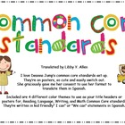 First Grade Common Core Poster -Spanish