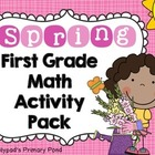 Spring Common Core Math Centers & Activities for First Grade
