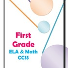 First Grade Common Core State Standards Condensed Color Co