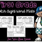 First Grade Dolch Sight Word Mats