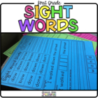 First Grade Dolch Sight Word Packet - 1st Grade