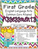 First Grade ELA Common Core Assessments Part Four