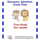 First Grade Emergency Sub Lesson Plans
