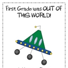 First Grade End of Year Memory Book ~ Outer Space Theme