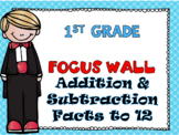 First Grade Envision Math Topic 4 Addition and Subtraction