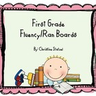 First Grade Fluency/Ran Boards