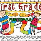 First Grade Fun Games