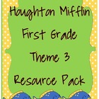 First Grade HM Theme 3 Let&#039;s Look Around Resource Pack