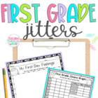 First Grade Jitters Activities & Graphic Organizers {Commo