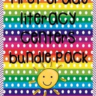 First Grade Literacy Centers Bundle