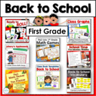 Back to School Bundle ~ First Grade Literacy and Math