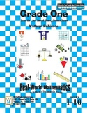First Grade Math Centers and Worksheets (Weeks 1 - 10)