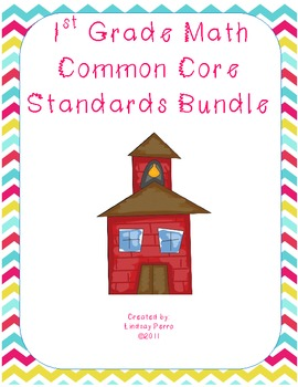 First Grade Math Common Core Standards Practice Bundle