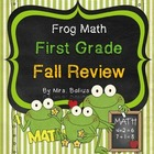 First Grade Math {Frog Math} A Fall Math Review