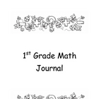 First Grade Math Journal