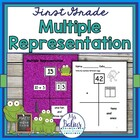 First Grade Math Place Value {Frog Math} Multiple Representation