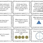 First Grade Math Review Game (Aligned with Common Core)
