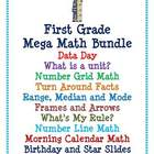 First Grade Mega Math Bundle for SMART board