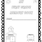 First Grade Memories: An End-of-the-Year Project!