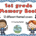 First Grade Memory Book (with multiple cover options)