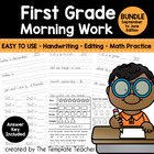First Grade Morning Work - Activities for Everyday - Sept.
