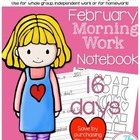 First Grade Morning Work - Do Now - February