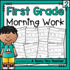 First Grade Morning Work Part 2 {Daily Language Arts and M