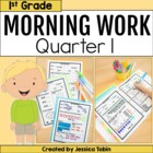 First Grade Morning Work for Common Core Set #1 {Quarter 1