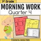 First Grade Morning Work for Common Core Set #4 {Quarter 4