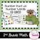 First Grade! Number Sense: Number Hunt using Number Words (1-120)
