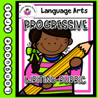Common Core First Grade Progressive Writing Rubrics for the Year