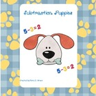First Grade Puppy Subtraction